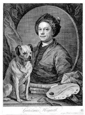 Hogarth Image 4 (Self-Portrait)