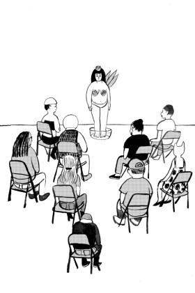 cassie in classroom