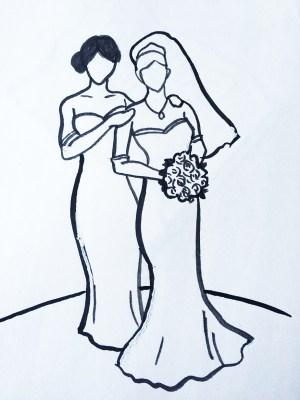 Bride-bride