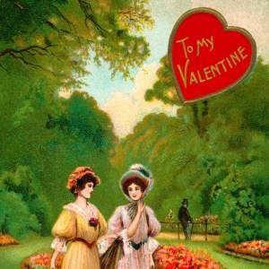 Vintage Valentine greeting