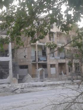 Ibrahim's house Aleppo 2015