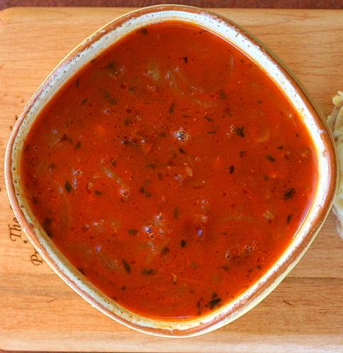Smoky Bacon and Onion Soup