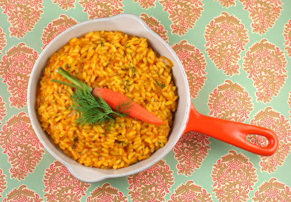 Carrot and Dill Risotto
