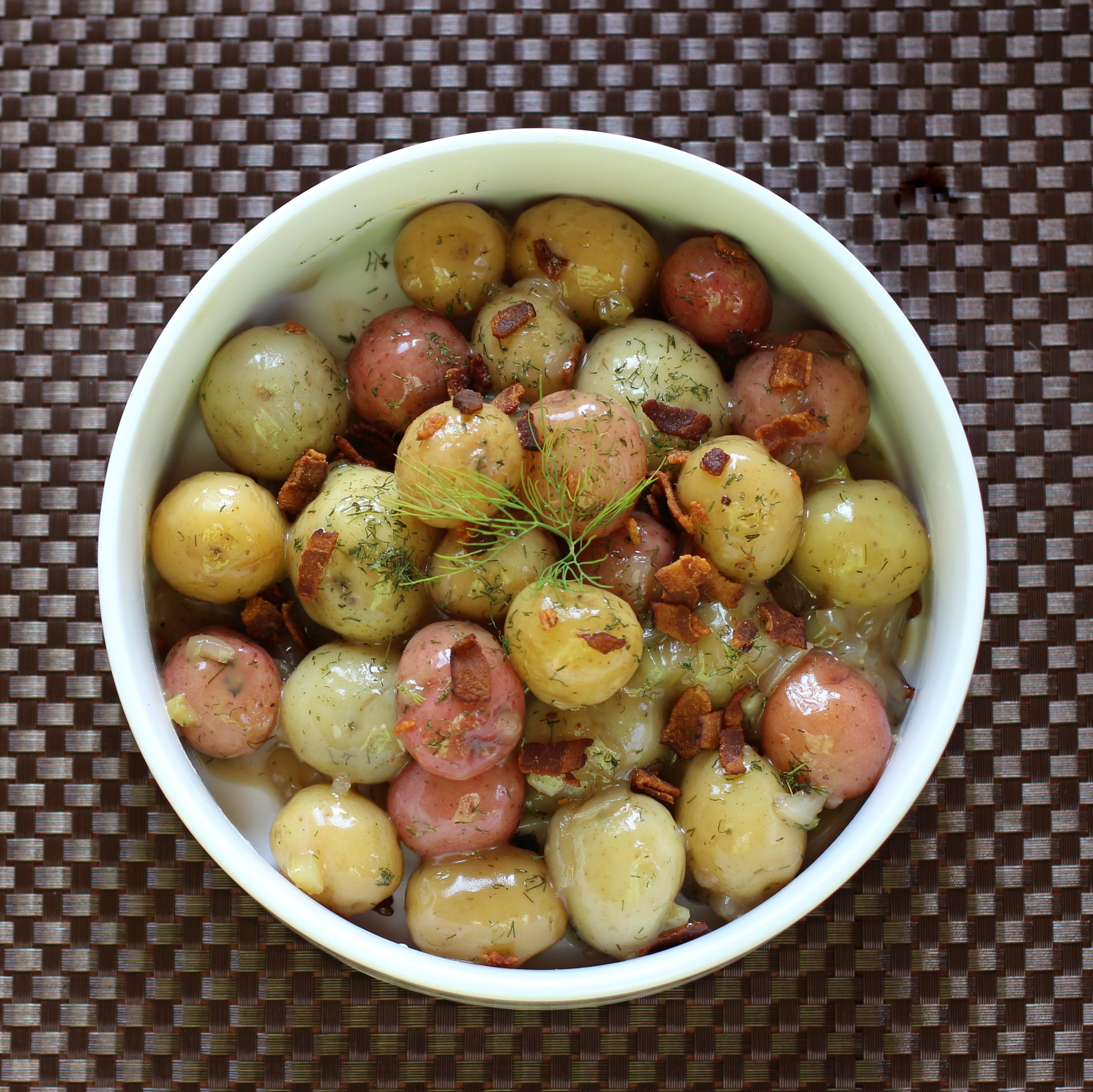 Scandi-Style Potatoes