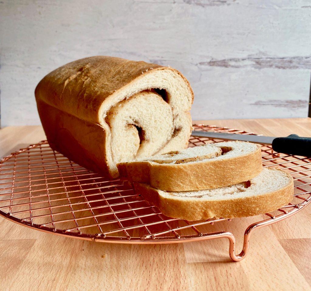 Chai Spiced Swirl Bread