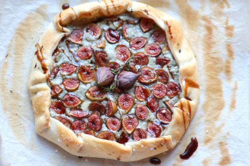 Fig and Blue Cheese Galette