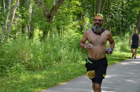 Towpath  Burning River 100 Ultramarathon