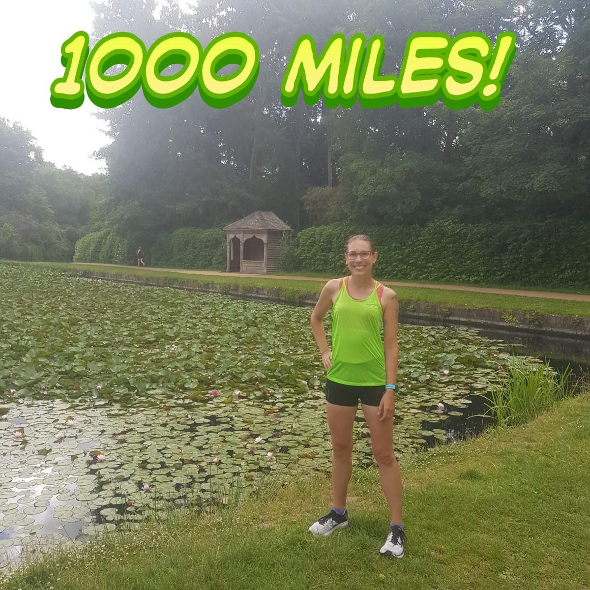 My running milestone