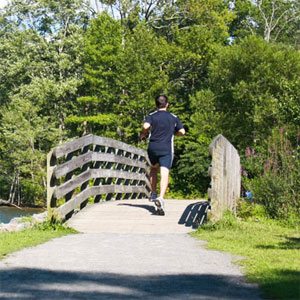 Running Along Path