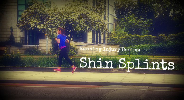 woman jogging shin splints