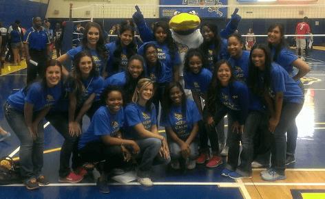 Cheerleaders bring new spirit to campus