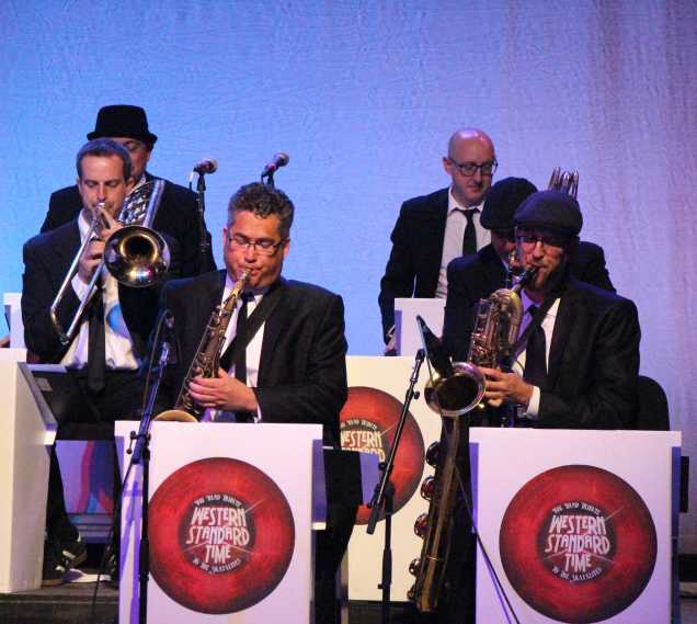 The Western Standard Time Ska Orchestra was the final act for the night on May 9 at the Bakersfield Jazz Festival held at CSUB. They performed after the fireworks with an energetic set.