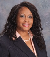 China Jude, who is the current assistant vice-president and director of athletics at Queens College, is one of the finalists for the next director of athletics at CSUB. Photo from gorunners.com