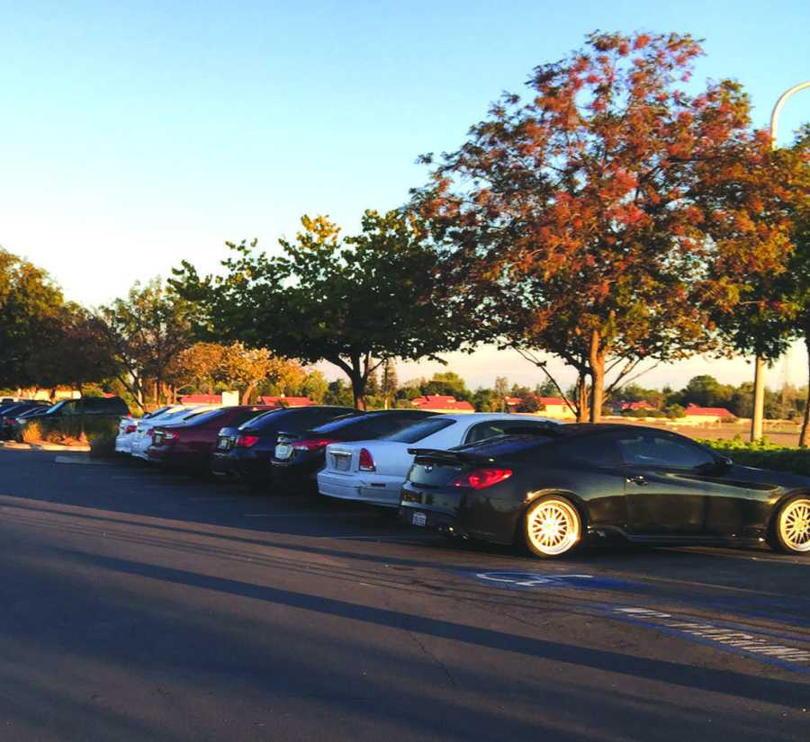 Parking has long been an issue for students as enrollment rates increase each year.  Photo by Lakhdeep Singh/The Runner
