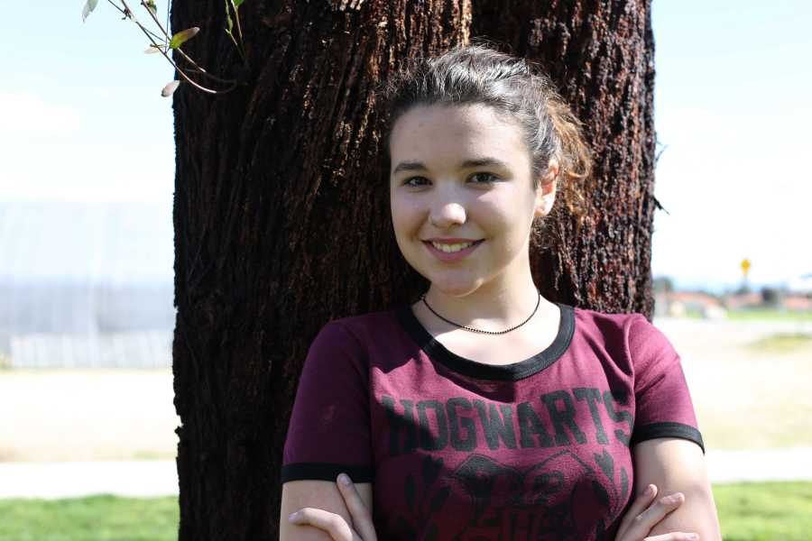 Jaidyn Conner is a 13-year-old physics major, who recently enrolled into CSUB and is striving to graduate as soon as possible. Photo by Karina Diaz/The Runner