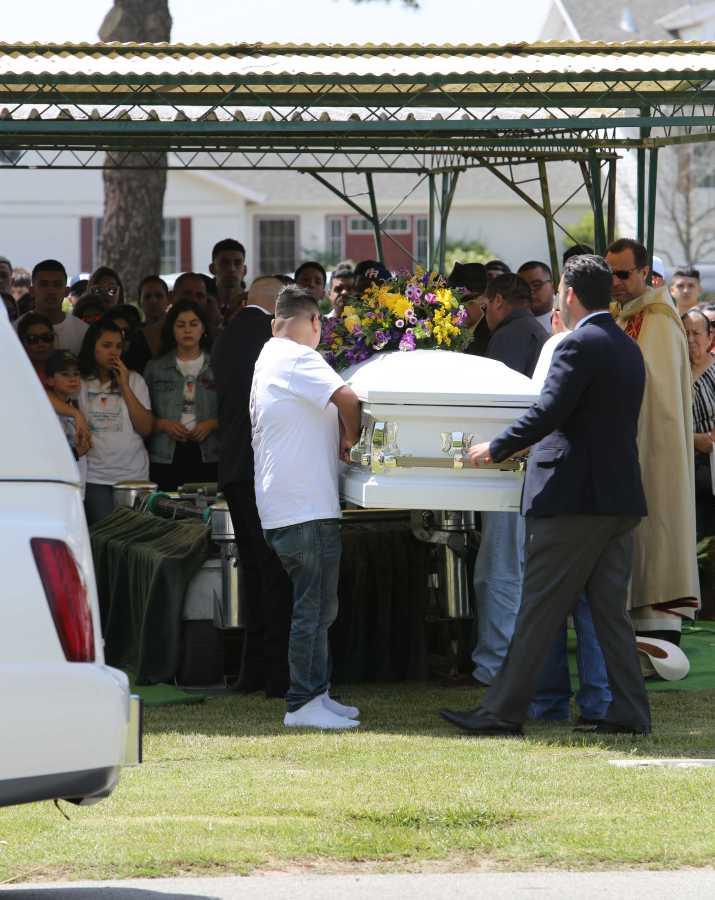 Csub student Ismael Castro was laid to rest on Friday. Photo y Aj Alvarado/ The Runner