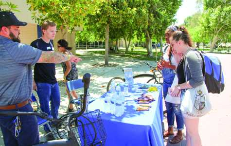 National Bike Day was celebrated at CSUB
