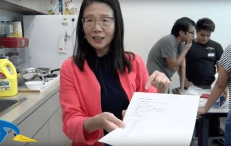 Chinese class makes dumplings