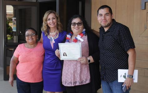 Faculty and community members become US Citizens at CSUB