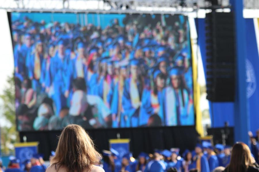 CSU Bakersfield's Spring commencement in May of 2019.