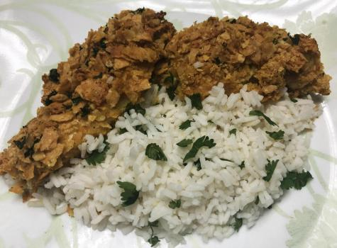 Runner recipes: Cilantro lime tortilla crusted chicken tenders