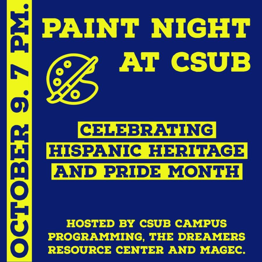 Preview: CSUB to hold virtual Día de los Muertos Paint Night