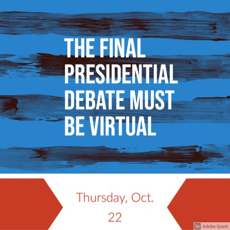 President Trump and COVID-19: The final presidential debate should be virtual