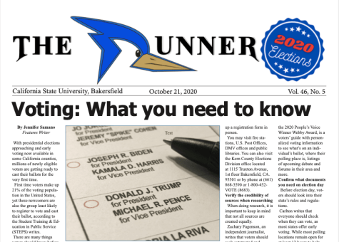 2020 Elections Issue of The Runner