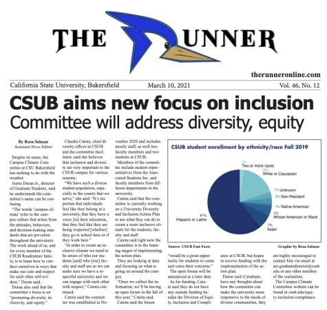 CSUB aims new focus on inclusion