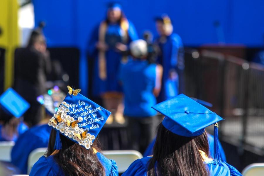 Graduates celebrate at CSUB
