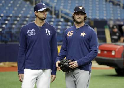 former astros hurler charlie morton now sings for tampa bay rays fans the runner sports former astros hurler charlie morton now