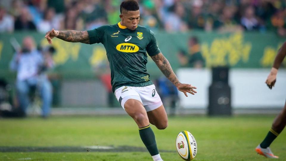 Elton Jantjies Is A Key Asset For South Africa Springboks - The Runner  Sports