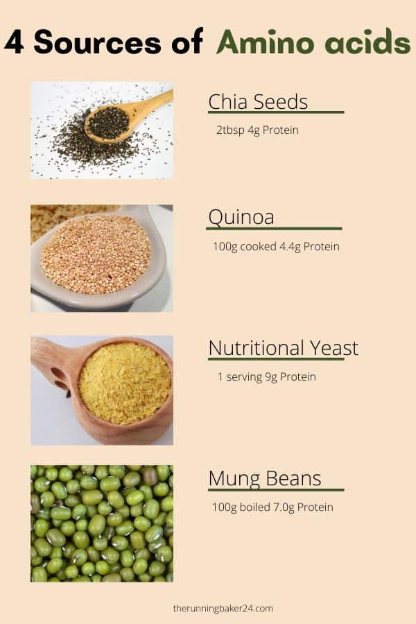 Amino Acids with high protein
