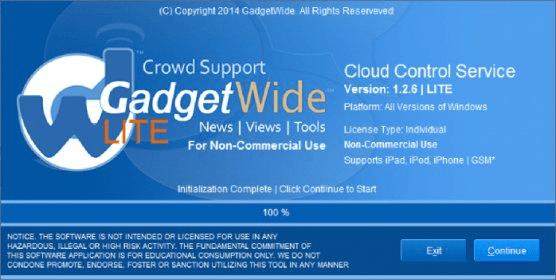 gadgetwide cloud control