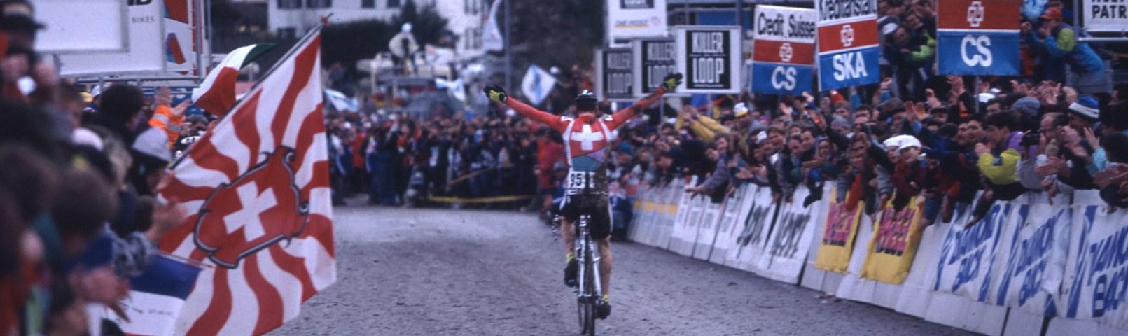 Dieter Runkel wins 1995 World Championships