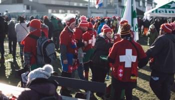 Swiss fans