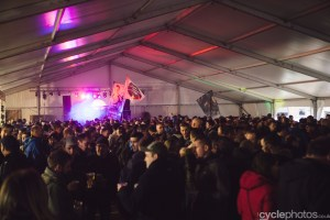 DVV Trofee party tent at krawatencross