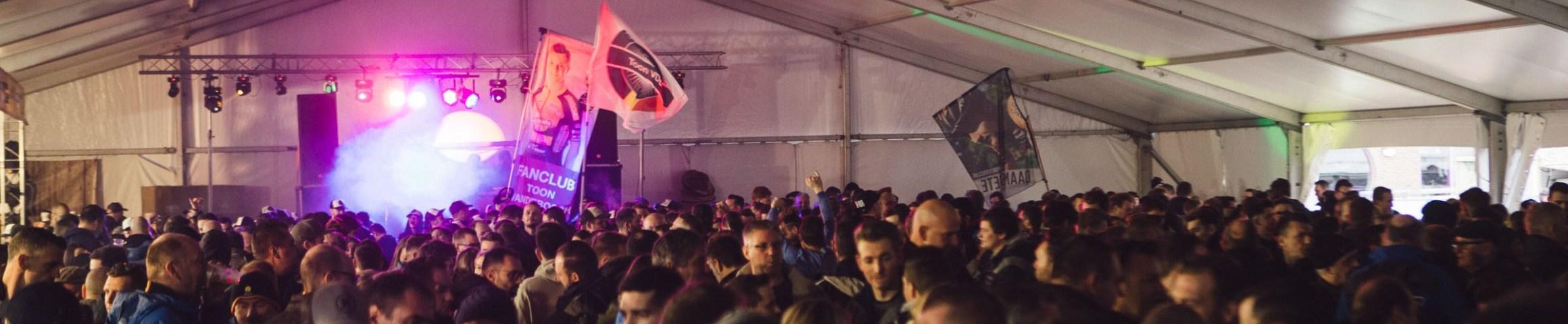 DVV Trofee party tent at krawatencross