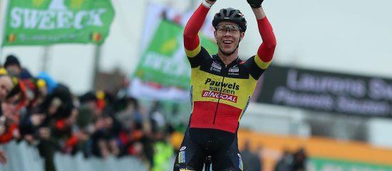 Laurens Sweeck wins in MIddelkerke 2020