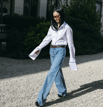 Catching on to one of the most coveted trends thus far: the elongated sleeve. PC: Phil Oh x Vogue