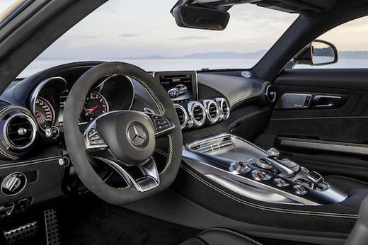 2016 Mercedes-AMG GT.