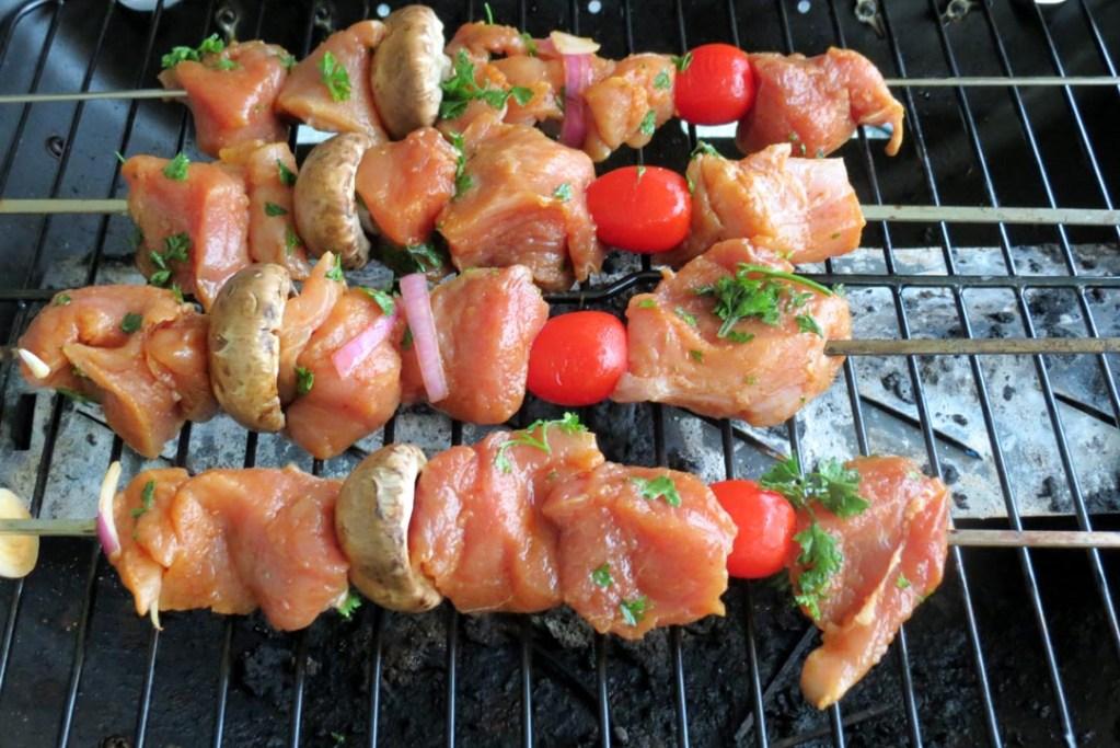shishkubub on the grill