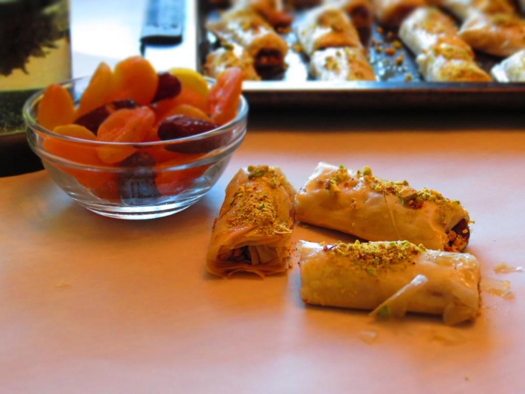 baklava-apricots