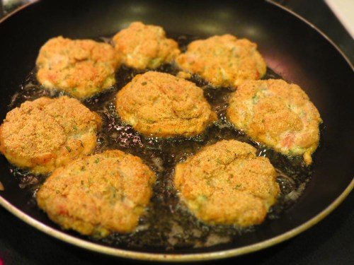frying cutlets