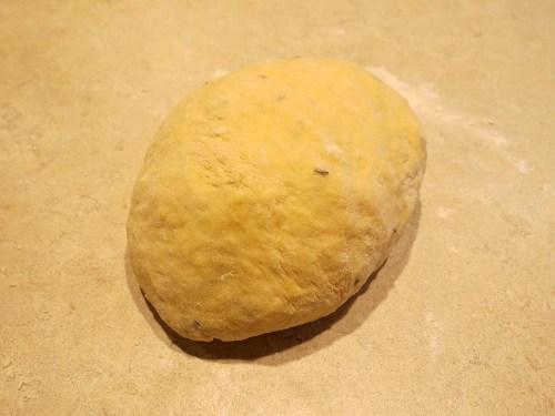 caraway seeds dough