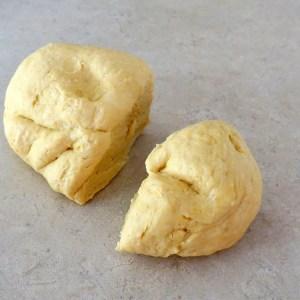 divided dough
