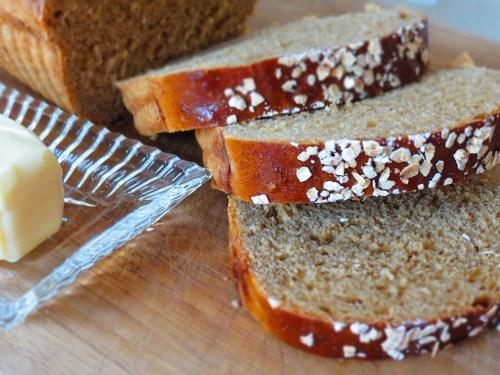 serving bread