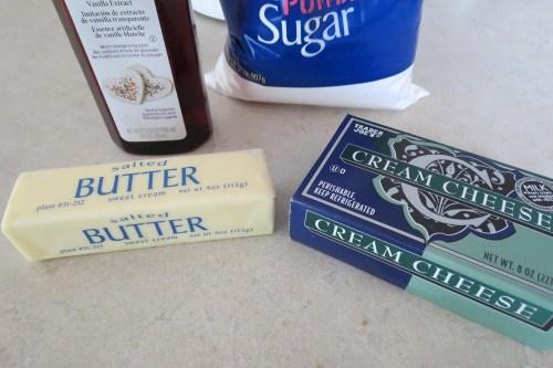 cream cheese ingredients