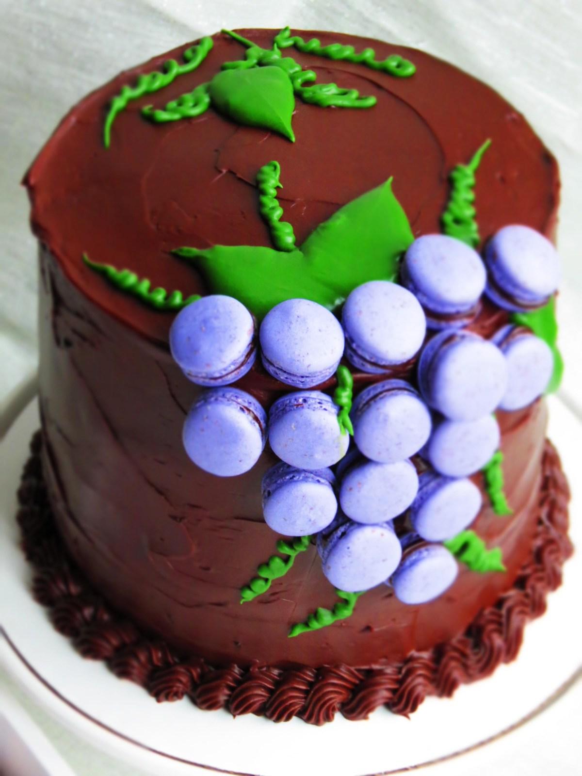 macarons-cake