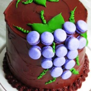 macarons cake